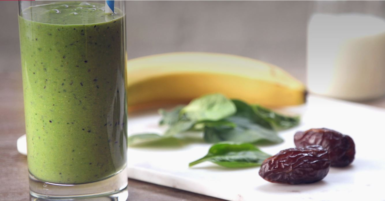 Medjool Date Green Smoothie